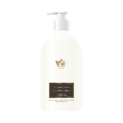 Perth Soaps Leather & Vanilla  Body Lotion