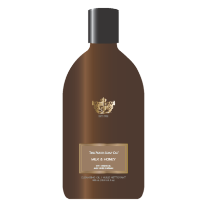 Perth Soaps Milk & Honey Body Wash