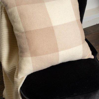 St. Louis Alpaca Pillow Cover - Ivory/Beige