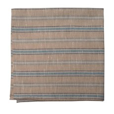 Tempo Stripped Teal/Beige Napkins (Set of 4)