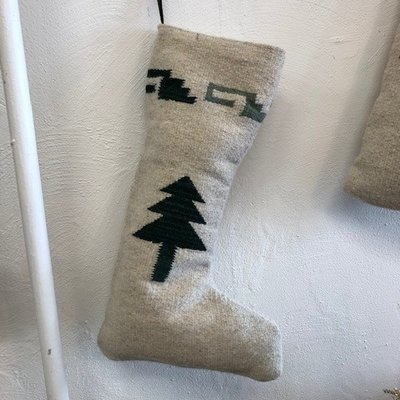 Christmas Tree Stocking Green