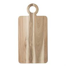 Acacia Wood Tray/Cutting Board W/Handle