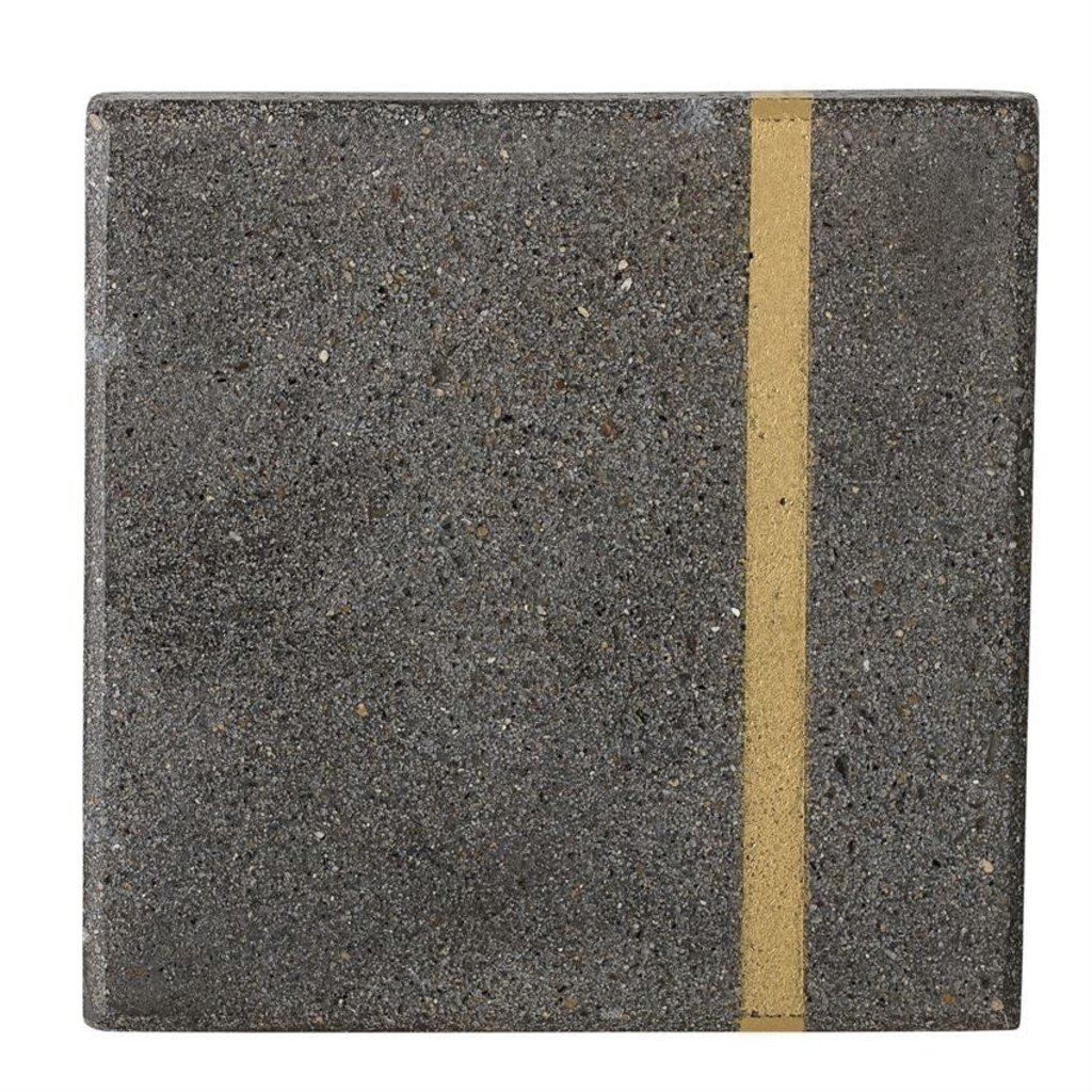 Cement and Gold Coasters (Set of 4)