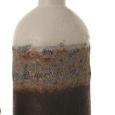 Natural Glazed Bud Vase Tall