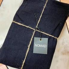 BeHome Linen Tea Towels Black, Set of 2