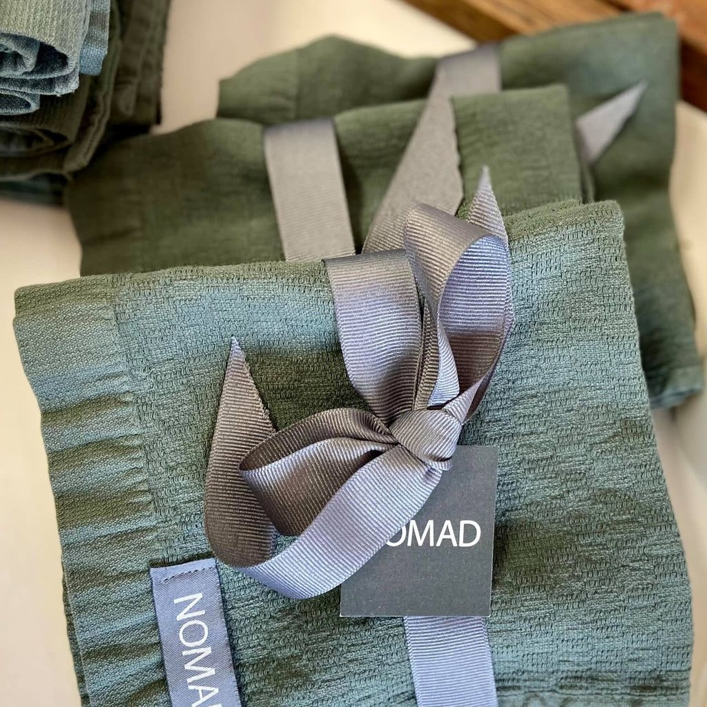 Alfya Turkish Wash Cloth Olive Set