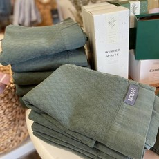 Alfya Turkish Bath Towel Olive