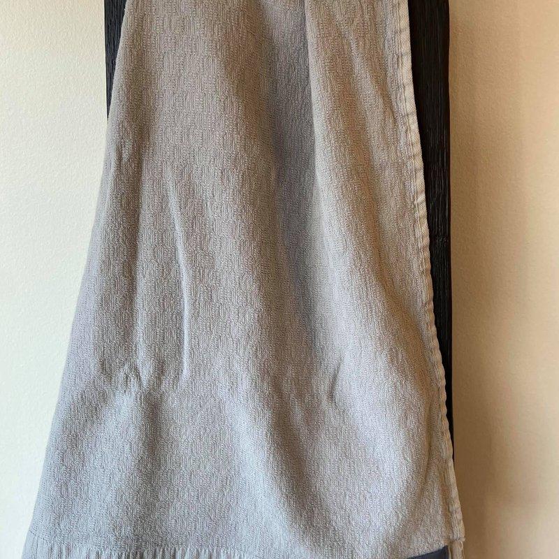 Alfya Turkish Bath Towel Grey