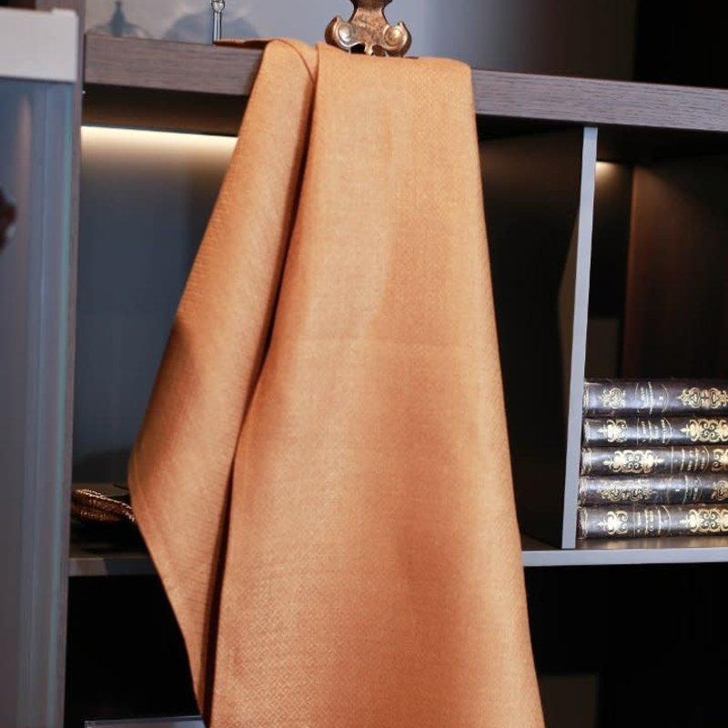 Linen Way Morgan Linen Hand Towel/Tea Towel - Rust