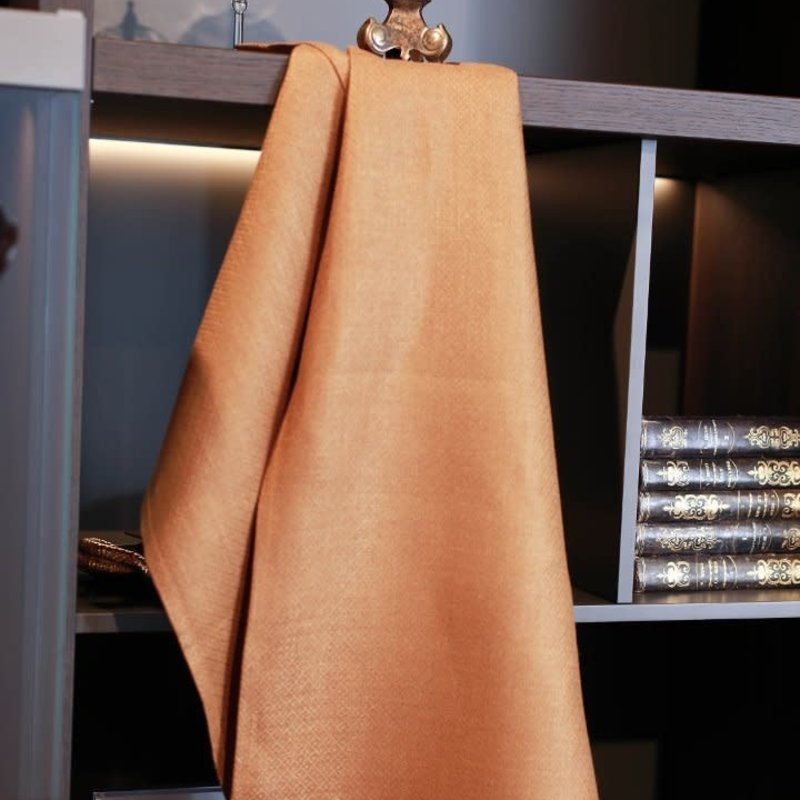 Morgan Linen Hand Towel/Tea Towel - Rust