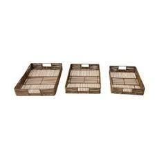 - Bamboo & Jute Trays