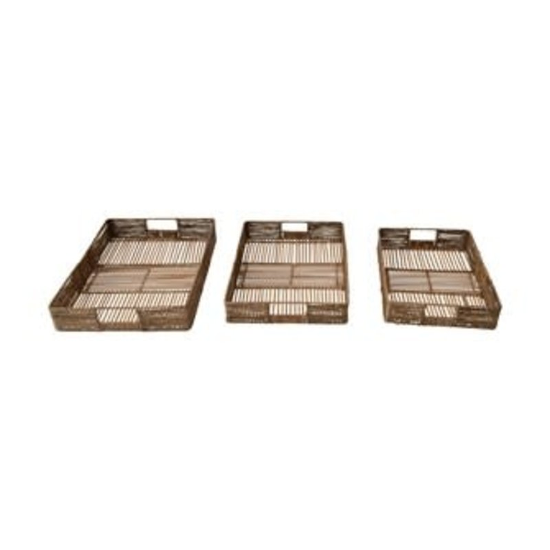Bamboo & Jute Trays