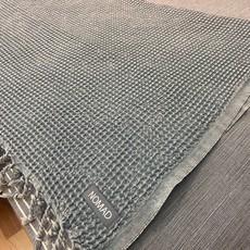 Waffle Blanket/|Coverlet Denim