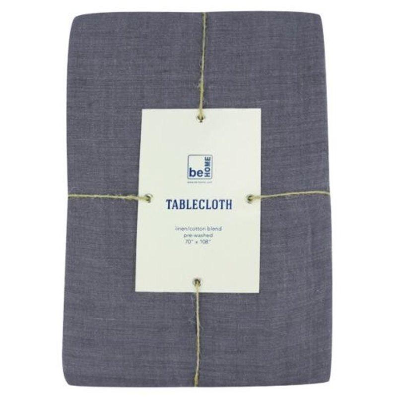 - Linen Tablecloth, Charcoal