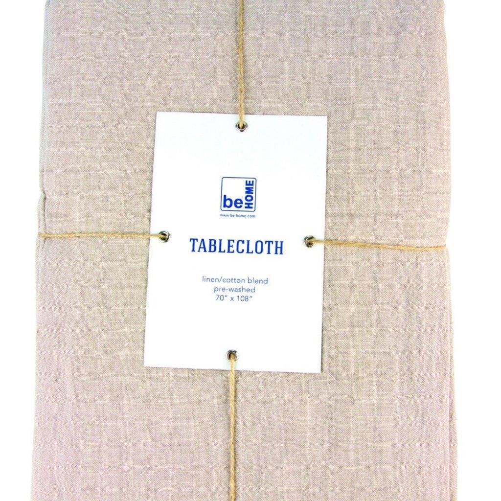 BeHome Linen Table Cloth, Birch