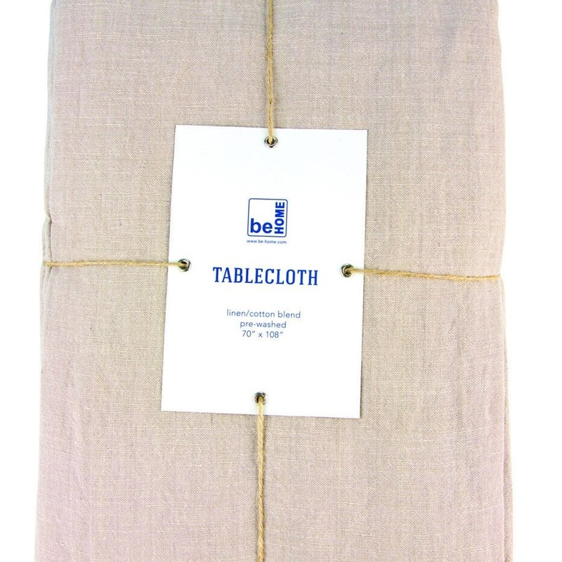 - Linen Table Cloth, Birch