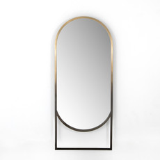 Dawson Mirror Ombre Brass