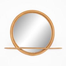 Toluca Rattan Mirror