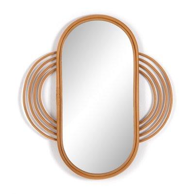 Naz Mirror Honey Rattan