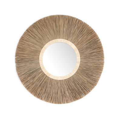 Nadalyne Seagrass Mirror