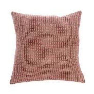 Nadi Linen Pillow Cover Red 20x20