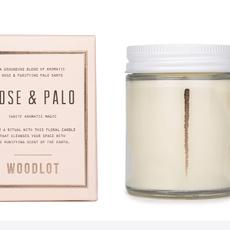 - Woodlot 8oz  Rose & Palo Santo
