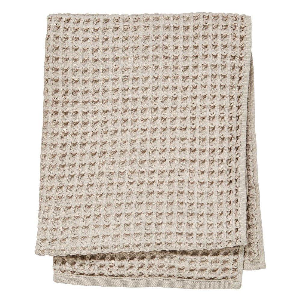 Waffle Bath Sheet Beige