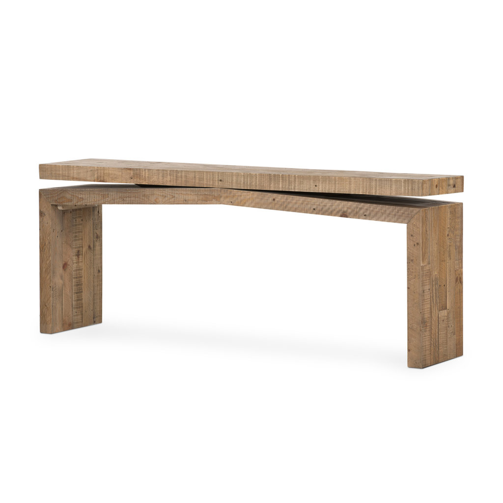 MATTHES CONSOLE TABLE-RUSTIC NATURAL