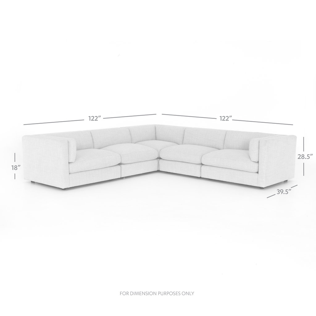 Four Hands COSETTE 5-PIECE SECTIONAL