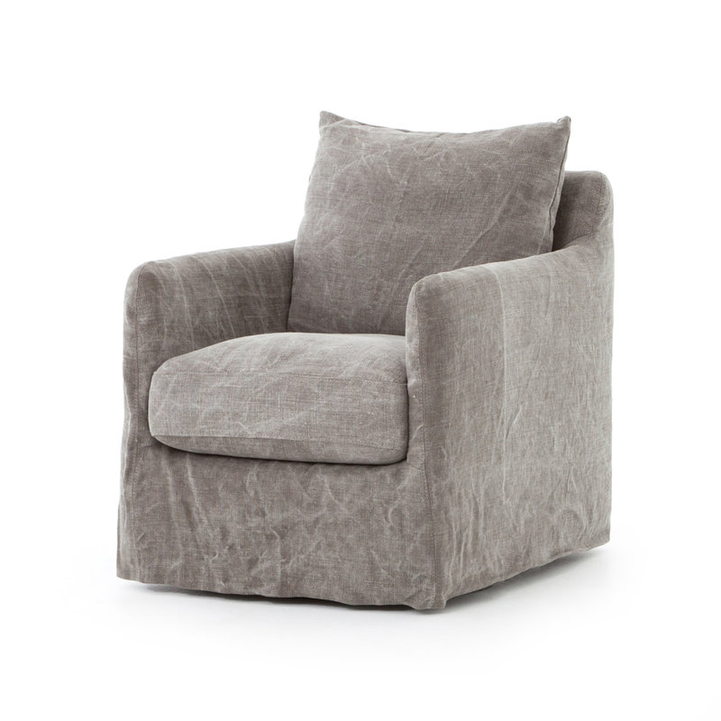 Four Hands Booker Swivel Chair