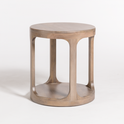Alder and Tweed Mason End Table