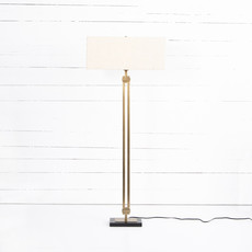 Rae Floor Lamp - Light Beige Shade