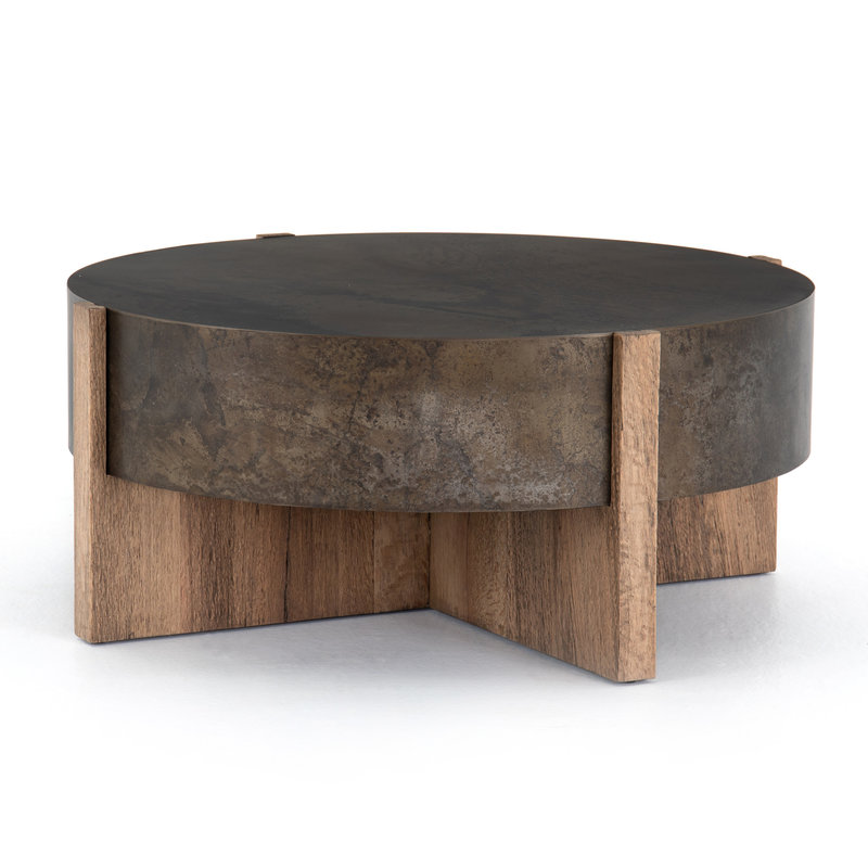 Four Hands Bing Coffee Table Rustic Oak