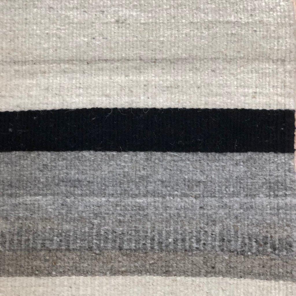Camino Real Wool Black/Natural Stipe