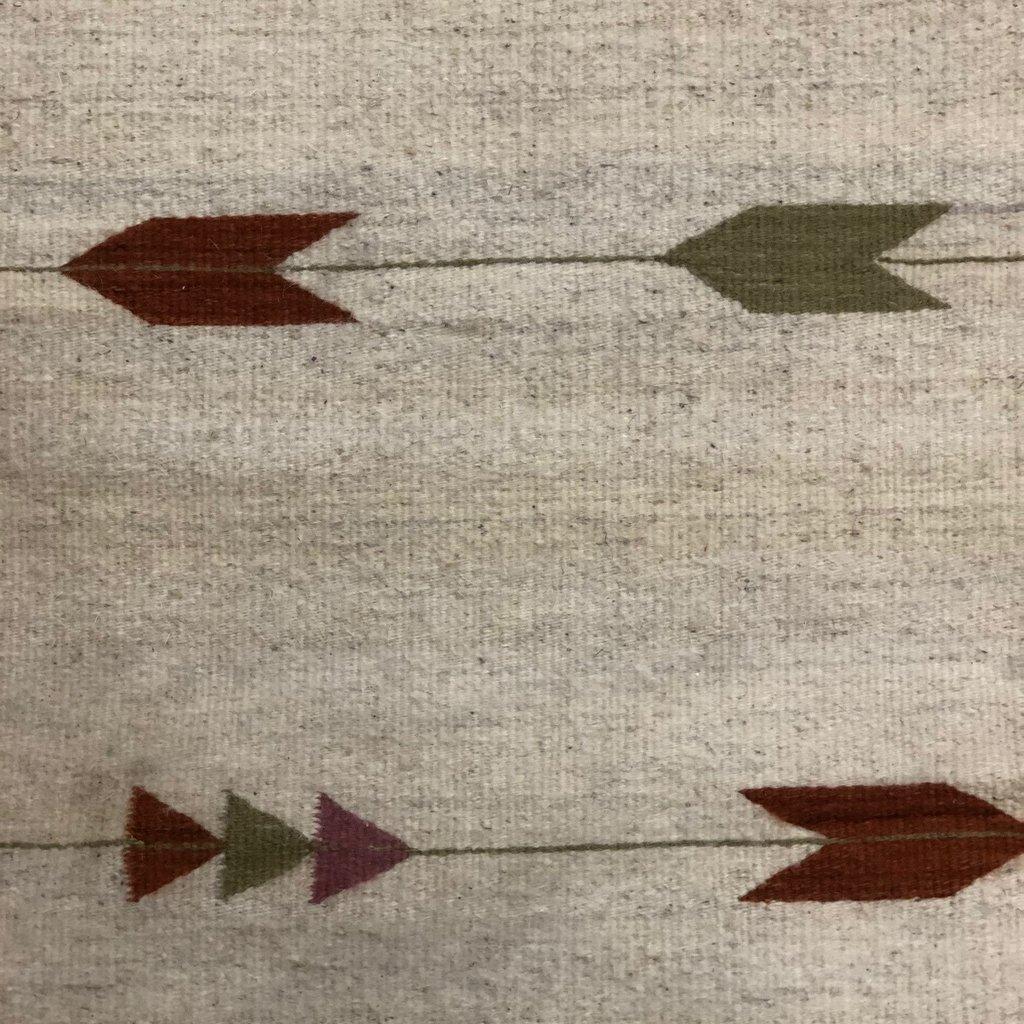Wool  Desert/Olive Arrow Runner