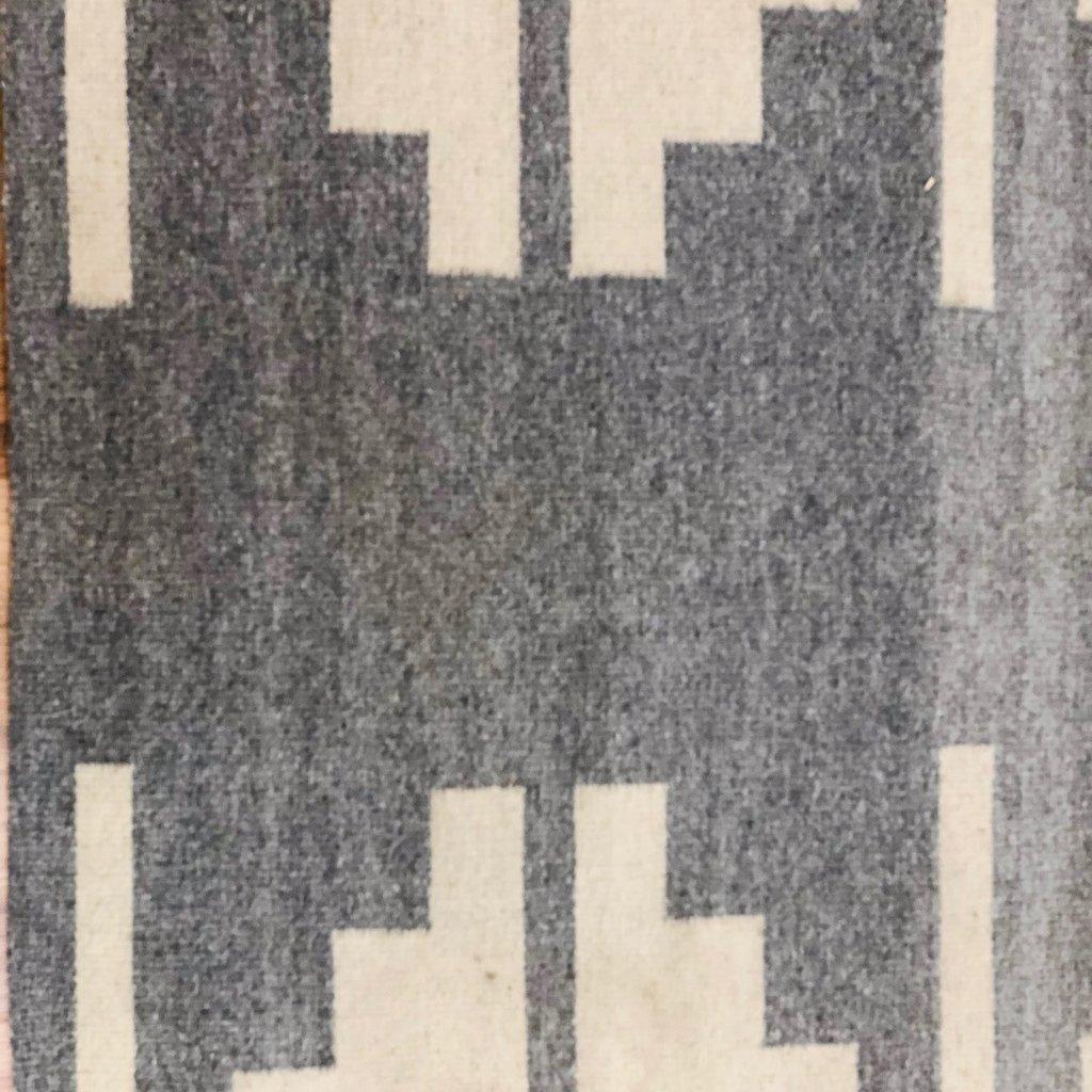 Camino Real Wool Heather Grey/Ivory Runner