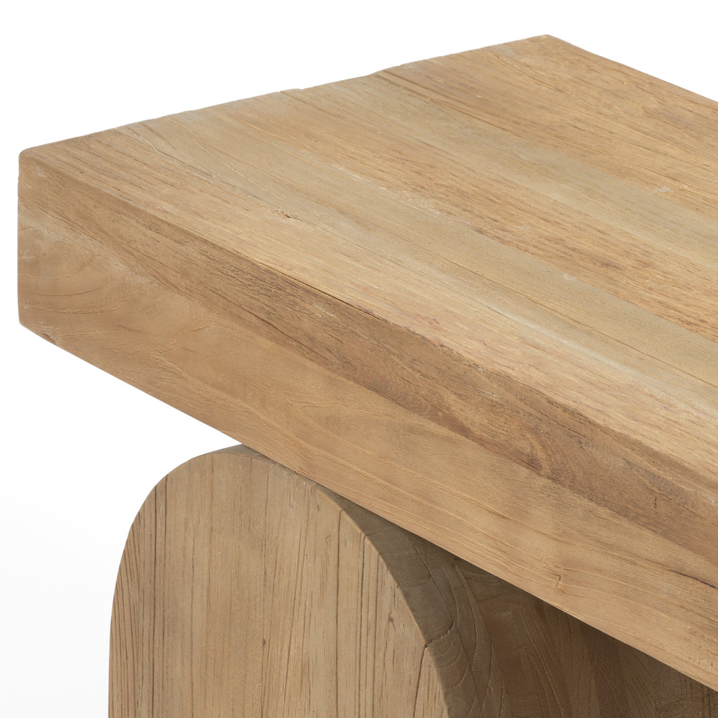 Four Hands Keene Bench - Natural Elm