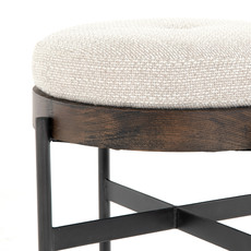 Four Hands Eddie Ottoman Wheat