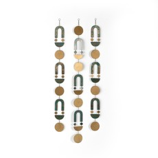 Four Hands MODERN PATINAED WALL HANGINGS-DARK
