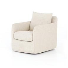 CHANCE SWIVEL CHAIR-CAMBRIC IVORY
