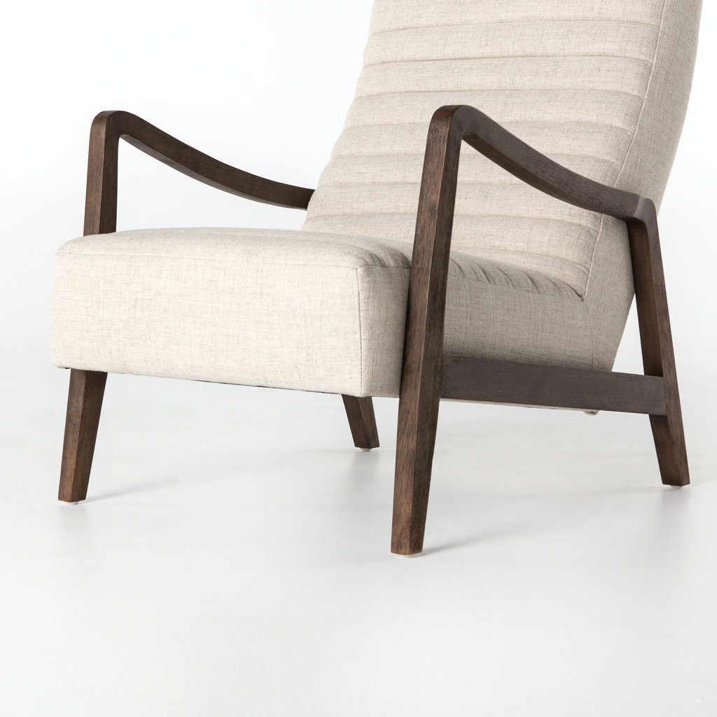 Four Hands Banks Chair - Linen Natural