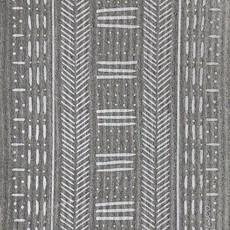 Ten & Co Mudcloth Grey Sponge Cloth