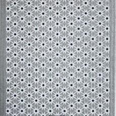 Ten & Co Starburst Neutrals on Warm Grey Sponge Cloth