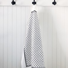 - Tea Towel Tiny X Black