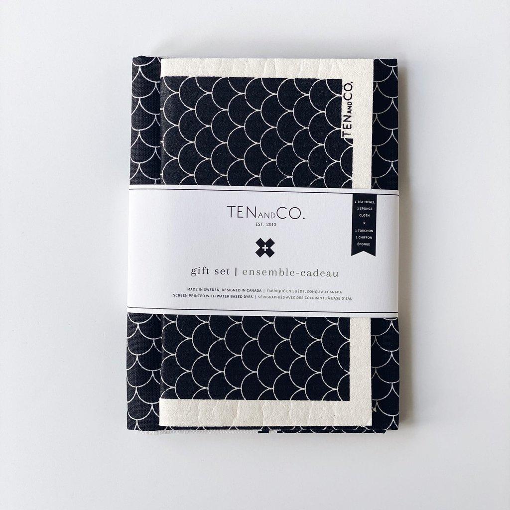 Gift Set - Scallop Black