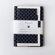 Ten & Co Gift Set - Scallop Black