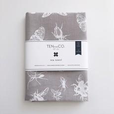 Tea Towel Dragon Flys