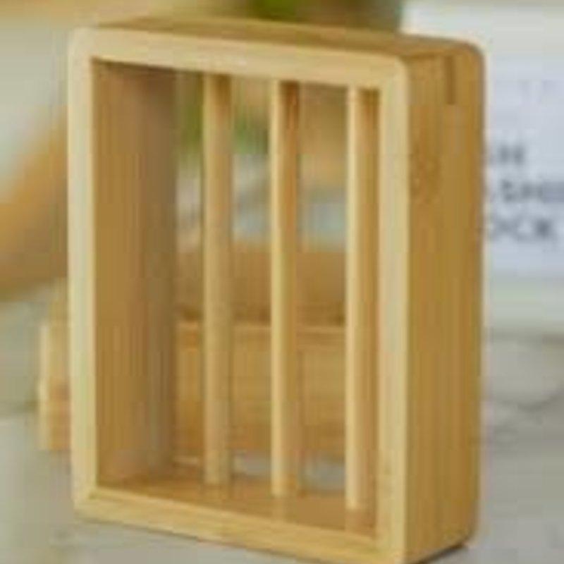 Bamboo Soap Shelf