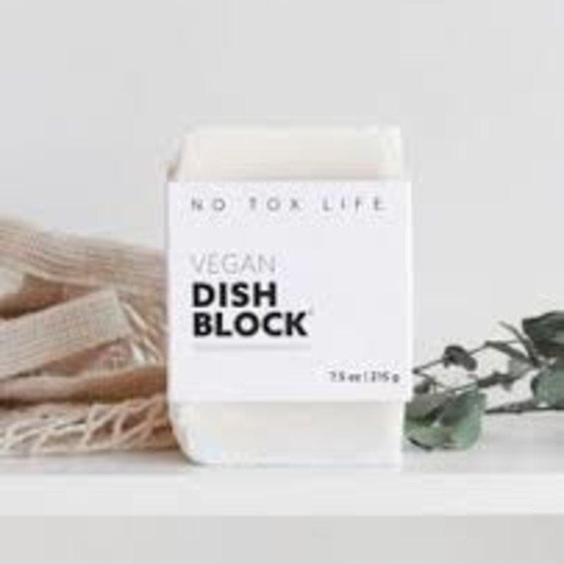 No Tox Life Small Dish Block Zero Waste (5.9oz)