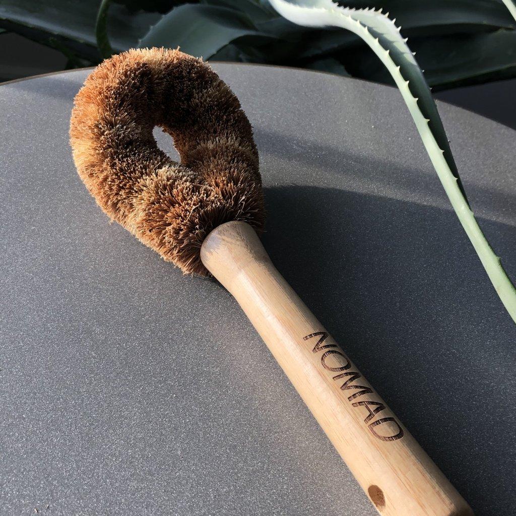 - Coconut  Husk Brush - Dishes or Vegetables